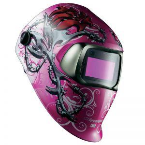 3M Speedglas 100 Welding Helmet - Wild n Pink