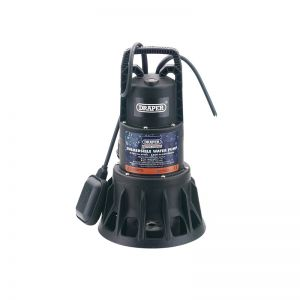 Draper 69690 320L/Min Submersible Dirty Water Pump with Float Switch (1000W)