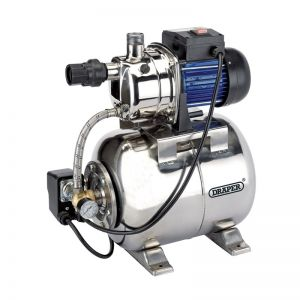 Draper 31561 53L/Min Stainless Steel Body Booster Pump (800W) (Discontinued)
