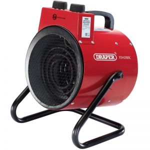 Draper 17775 2KW Electric Space Heater (230V)