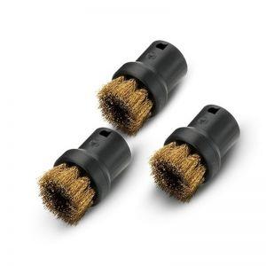 Karcher Round Brush Set With Brass Bristles (Set of 3)