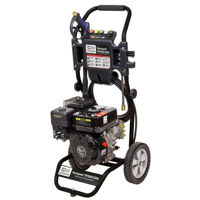 SIP 08918 Tempest TP550/206 207Bar 7hp Petrol Pressure Washer