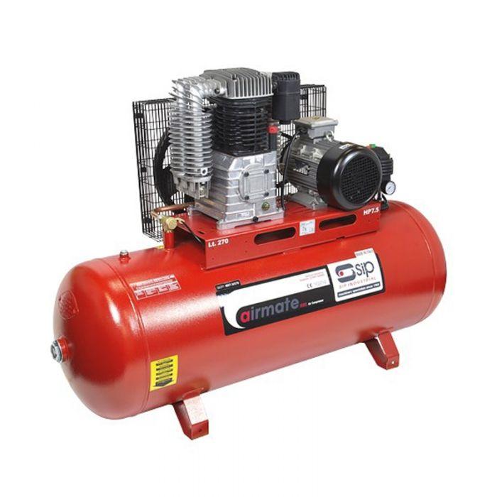 SIP 06291 Airmate Industrial Super ISBD7.5/270 Belt Drive Air Compressor