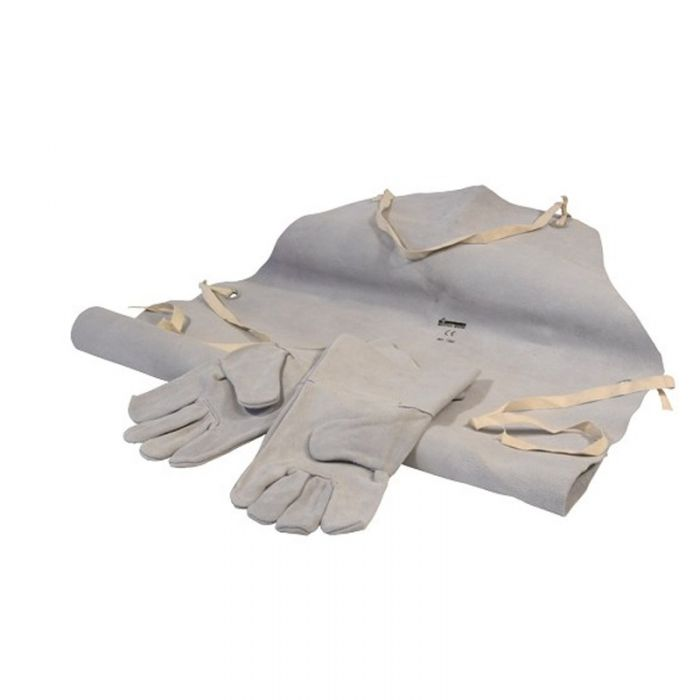 SIP 25112 Leather Welding Gloves And Apron