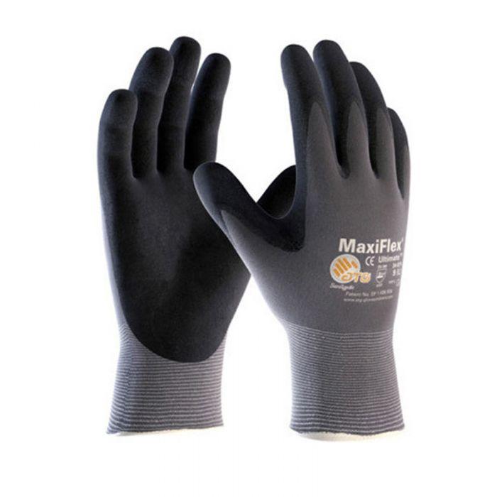 Ultimate MaxiFlex Nitrile Work Gloves, XL (1 Pair)