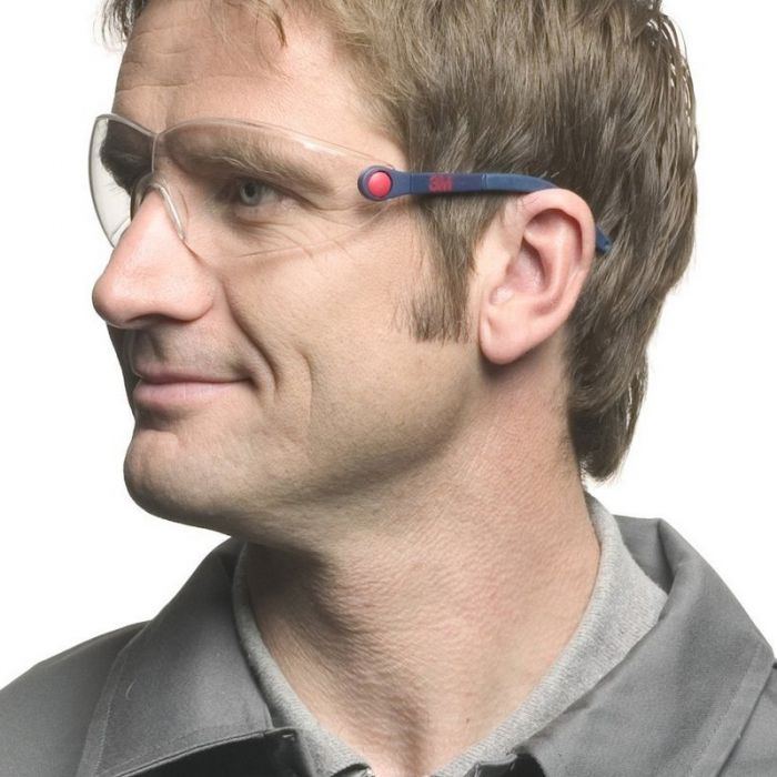 3M Comfort Line Safety Glasses Clear Lens