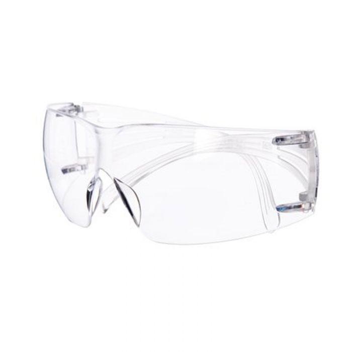 3M SecureFit Safety Spectacles, Clear Lens