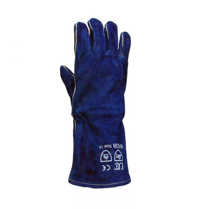 WGB Quality Welding Gloves - Blue  Size 10