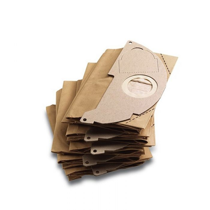 Karcher Paper Filter Bags for WD2 Vacuum Cleaner (Pack of 5)