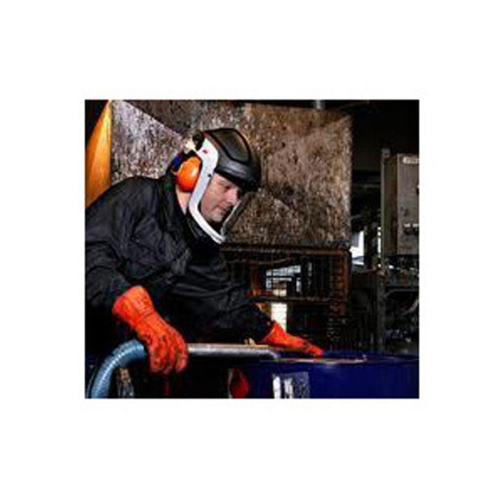 3M Versaflo M-307 Helmet with Flame Resistant Face Shield