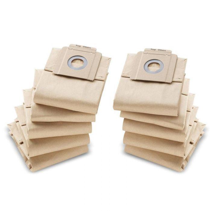 Karcher T10/1 Pro paper filter bags (Pack of 10)