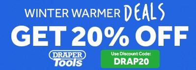 20% OFF DRAPER HEATERS